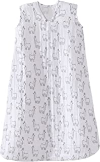 Halo 100% Cotton Muslin Sleepsack Wearable Blanket, Llama Print, Extra-Large