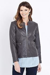 W.Lane Pu Stitch Detail Jacket - Womens