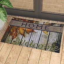 Welcome Home Yazılı Kauçuk Kapı Önü Paspası