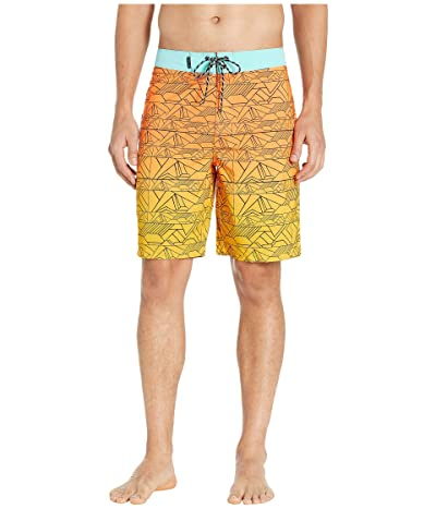Hurley 20 Phantom Sig Zane Haliewa Boardshorts (Total Orange) Men