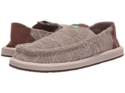 Sanuk Pick Pocket Knit (Khaki/Brown) Men