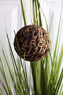 Best feather ball ornaments Reviews