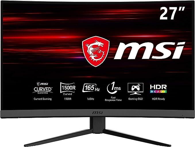 27 Zoll MSI 144Hz Gaming-Monitore mit 1ms