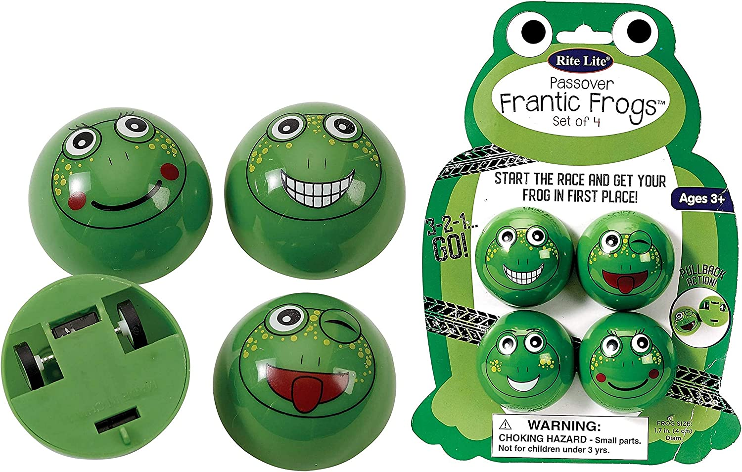 Rite Lite Classic Racing Frantic Frogs - for Toys Fun Kid latest Educational