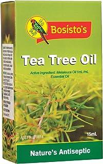 Bosisto's Tea Tree Oil 15mL | Essential Oils, Natural Melaleuca Oil, Natural Tea Tree Oil, Natural Antiseptic, Antibacteri...