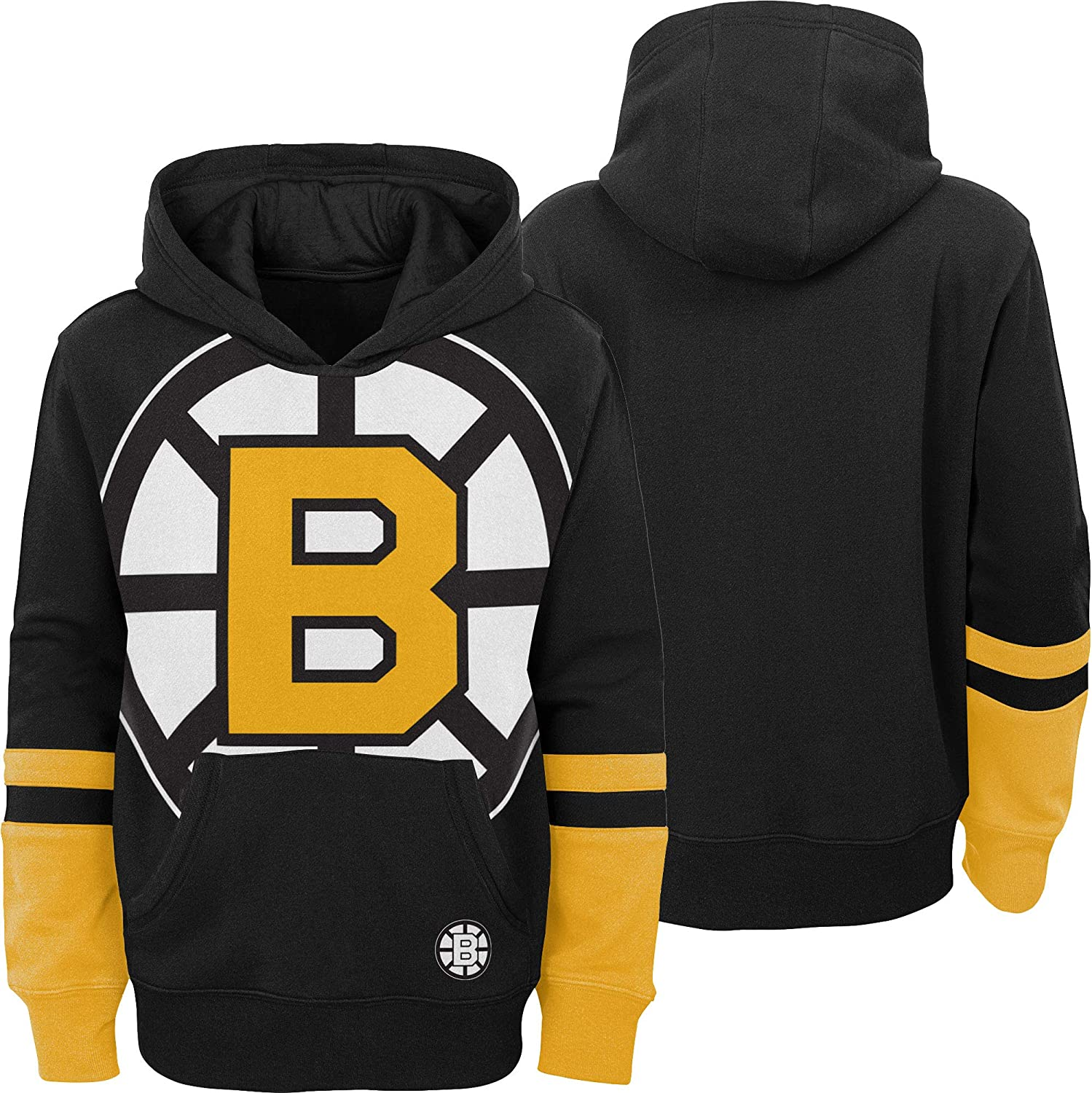 Outerstuff Youth Boston Bruins Big Logo Pullover Hoodie