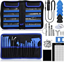 Precision Screwdriver Set 180 in 1, Magnetic Screwdriver Kits with 140 bits, Eocean Small Driver Repair Tool Set, Suitable...