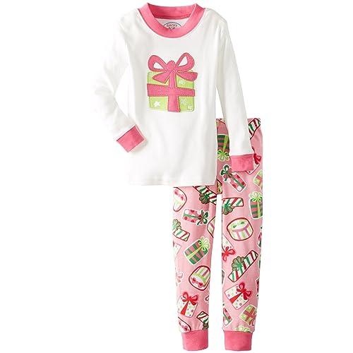 c68f277e30 Sara s Prints Girls  Long John Pajamas