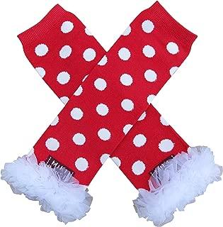 Baby Toddler Girl Polka Dot Tutu Chiffon Ruffle Leg Warmers