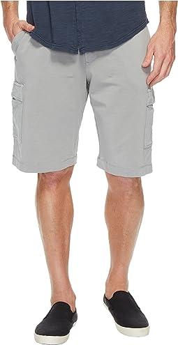 Bayside Deluxe Fleece Cargo Shorts