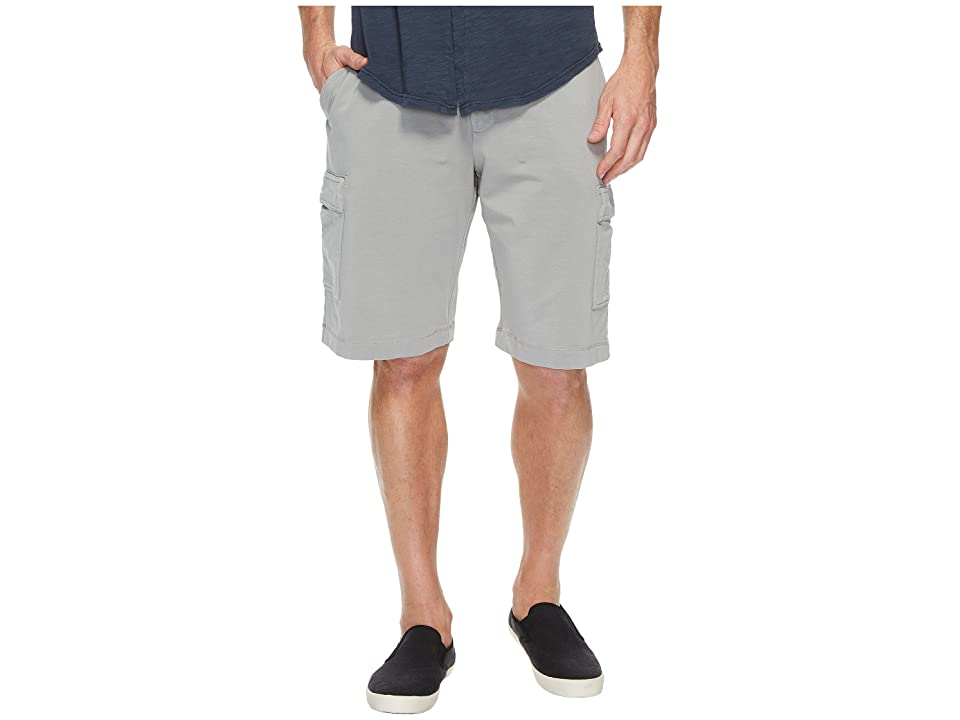Mod-o-doc Bayside Deluxe Fleece Cargo Shorts (Winter Grey) Men