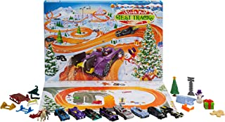 Hot Wheels 2021 Advent Calendar with 24 Surprises That Include 8 1:64 Scale Vehicles & Other Cool Accessories, Plus a Play...