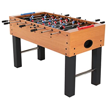 """American Legend Charger 52"""" Foosball Table with Abacus-Style Scoring and Internal Ball Return System"""