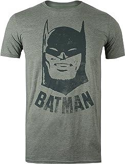 DC Comics Batman Vintage Camiseta para Hombre