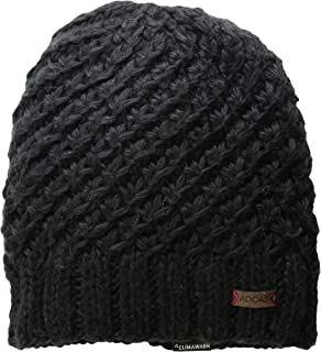 adidas Women's Whittier Beanie, Black/Mystery Ruby, ONE SIZE