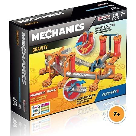 Geomag-Gravity Magnetic Track 772 Juego de construcción de 115 Piezas, Multicolor