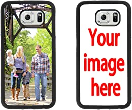 Custom Phone Cases Samsung Galaxy S6, iZERCASE [Personalized Custom Picture CASE] Make Your Own Phone Case (Black)