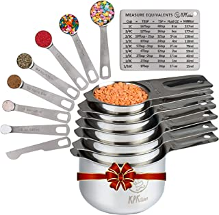 Best measuring cups and spoons sizes Reviews