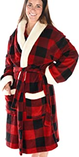 Soft Bathrobes for Men and Women by LazyOne | Animal Pattern Plush Robes Unisex