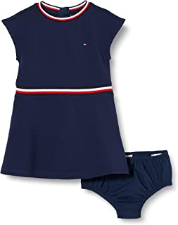 Tommy Hilfiger Essential Skater Dress S/S Vestido para Niñas