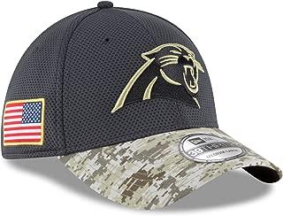 New Era Men's NFL Carolina Panthers 16 Salute to Service Sideline Hat