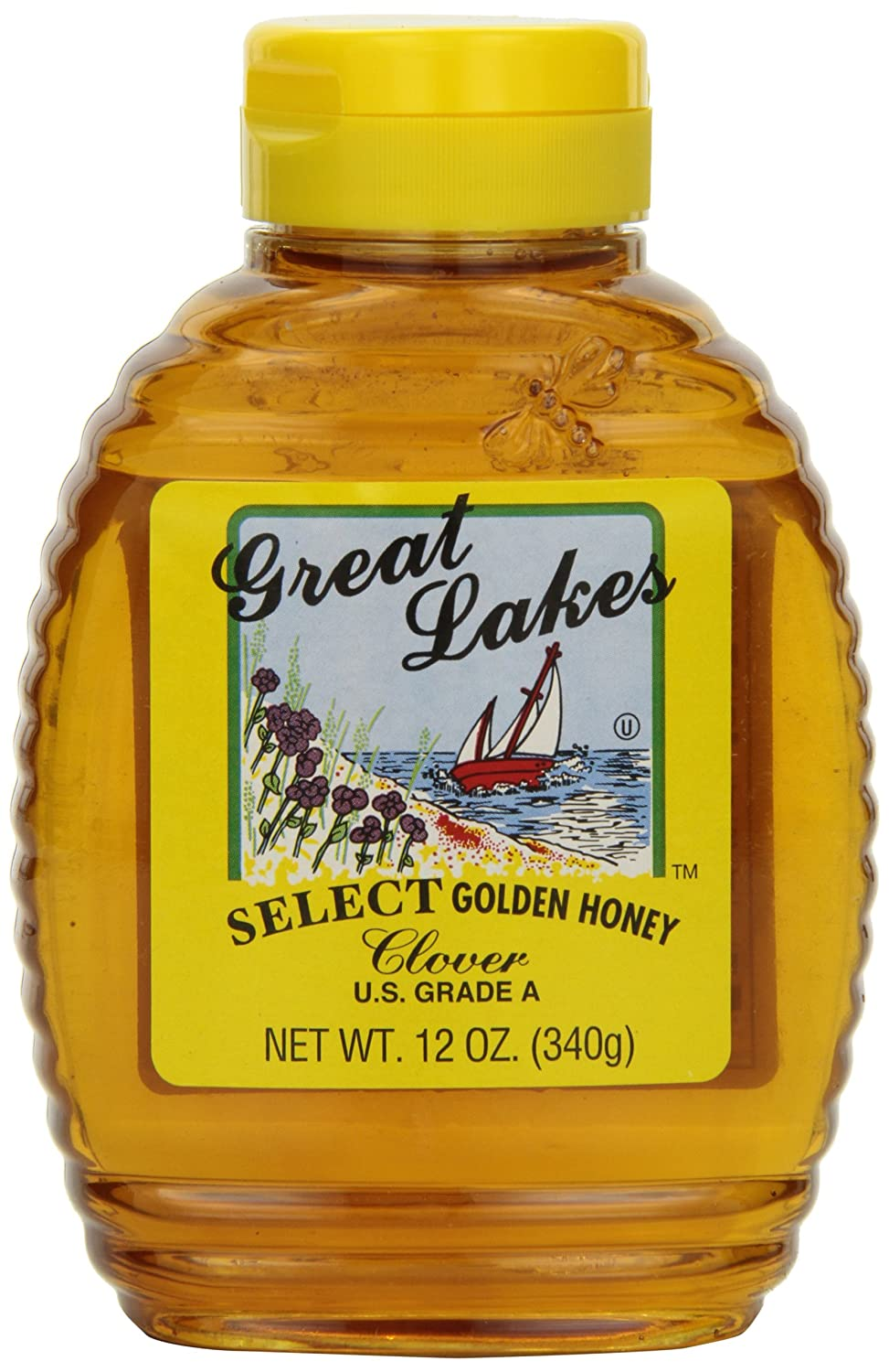 Great Lakes Select Financial sales sale Honey Super sale period limited Clover Bottles Pack 12-Ounce 12 of