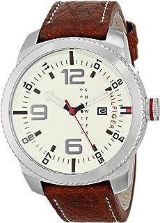 Tommy Hilfiger Men's 1791013 Analog Display Quartz Brown Watch