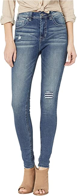 High-Rise Skinny in Dark Vintage WHS9202
