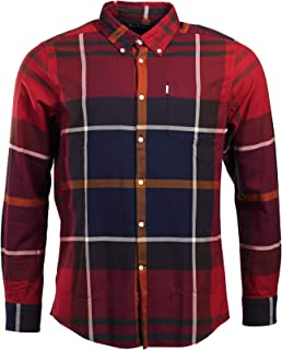 Men's Dunoon Plaid Button-Down Shirt