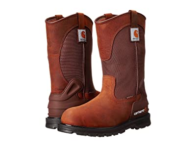 Carhartt 11 Waterproof Non-Safety Toe Wellington Boot (Bison Brown) Men