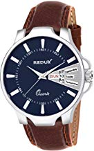 Redux Analogue Blue Dial Day and Date Men's Watch RWS0219S