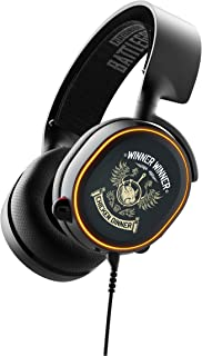 SteelSeries Arctis 5 PUBG Limited Edition - RGB Illuminated Gaming Headset with DTS Headphone:X v2.0 Surround - For PC and PlayStation 4