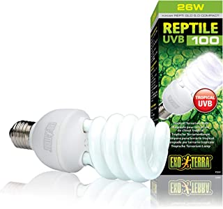 Exo Terra 25w Reptile UVB Tropical Terrarium Bulb