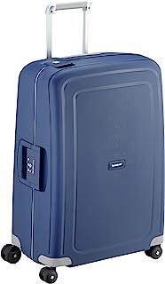 Samsonite S'Cure Valigia, 79 l, M (69 cm - 79 L), Blu (Dark Blue)