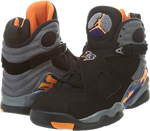 Nike - - - Air Jordan 8 - Coleur  Grau-Schwarz- Größe  41.0  Outlet zum Verkauf