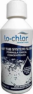 Spa - Hot Tub System Flush Cleaner: mantenedor de sistema de tuberías de SPAS o bañeras de hidromasaje. Botella 250 ml