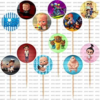 Boss Baby Cupcake Toppers Party Supplies