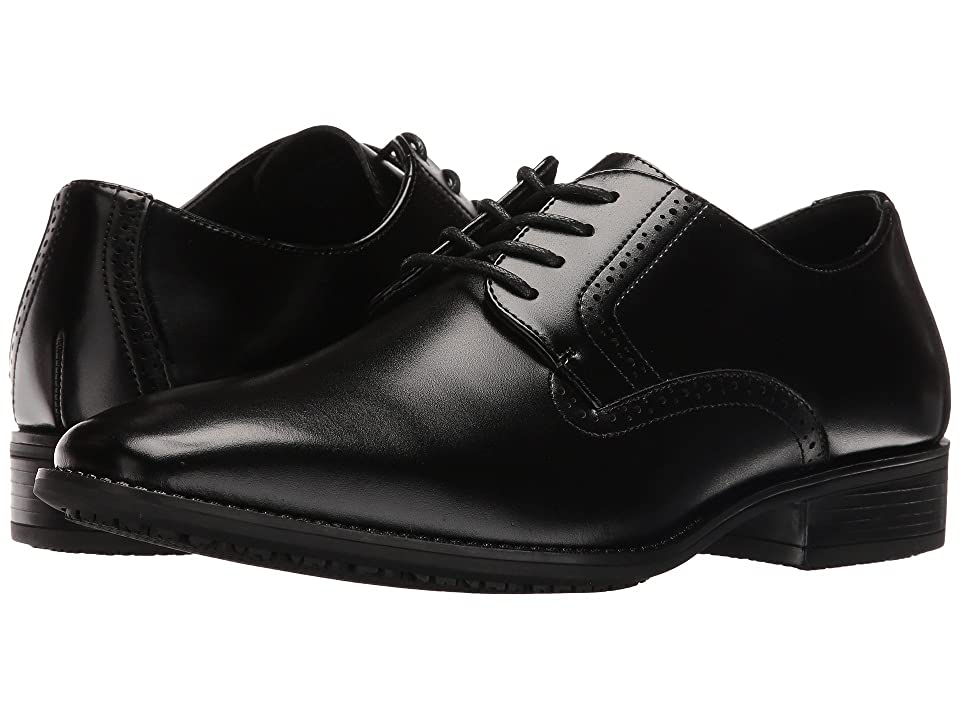 Stacy Adams Ardell Slip Resistant Plain Toe Oxford (Black) Men