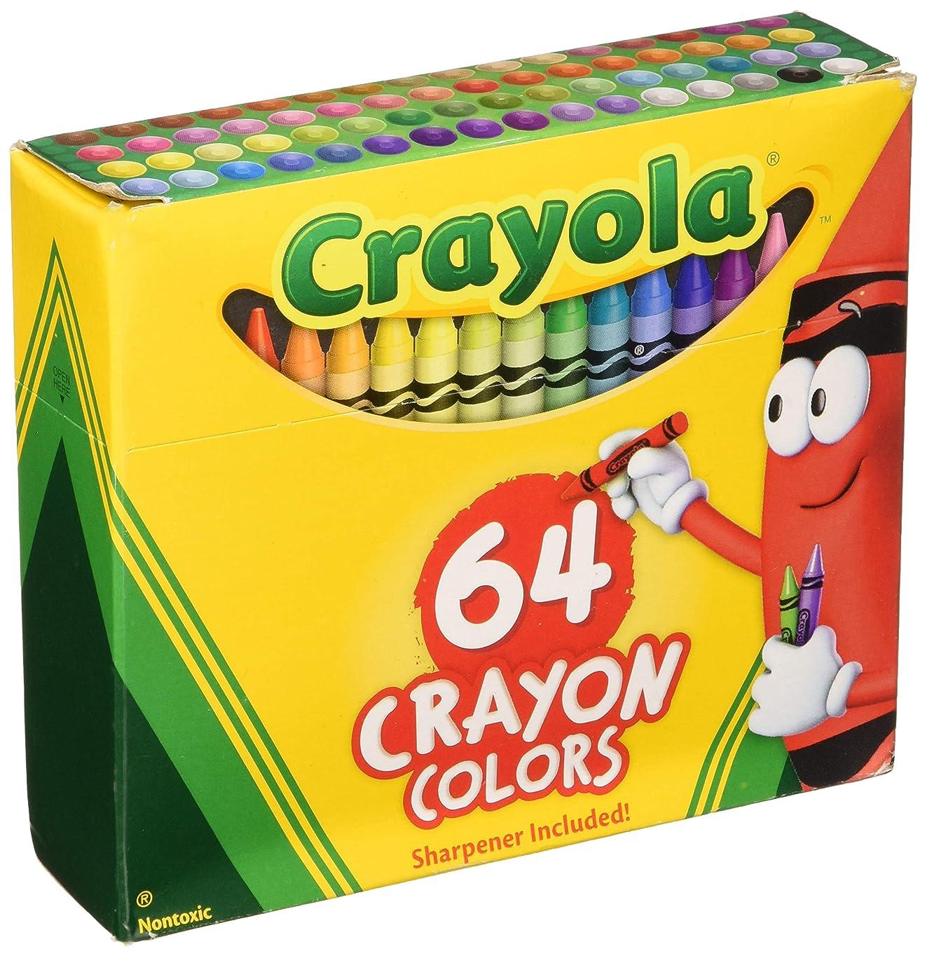 ペック彼女自身気怠いCrayolaクレヨン64?CTボックス