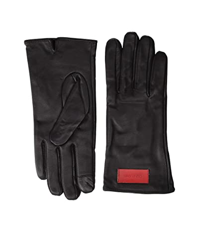 Calvin Klein Basic Leather Touch Gloves (Chocolate) Over-Mits Gloves