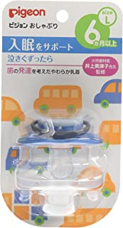Pigeon pacifier 6 months or more / L car