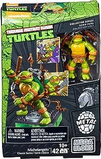 Mega Bloks Teenage Mutant Ninja Turtles Collectors 1987 Classic Michaelangelo Figure