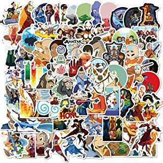 Avatar The Last Airbender Stickers 100PCS Variety Vinyl Waterproof Car Sticker Motorcycle Bicycle Luggage Decal Graffiti Patches Skateboard Stickers for Laptop Stickers (Avatar The Last Airbende100)