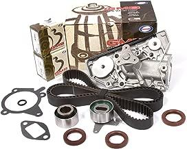 Evergreen TBK179WP Fits 91-96 Ford Escort Mazda Mercury 1.6L 1.8L DOHC 16V B6 BP Timing Belt Water Pump Kit