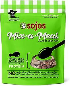 Sojos Complete Senior Grain-Free Freeze-Dried Raw Dog Food, 1.75 Pound Bag