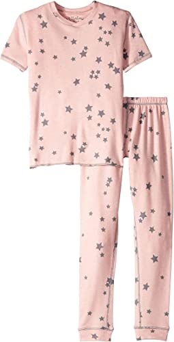 Peachy Party Star Two-Piece Jammie Set (Toddler/Little Kids/Big Kids)
