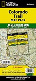 Colorado Trail [Map Pack Bundle] (National Geographic Trails Illustrated Map)