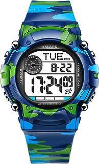AZLAND 3 Multiple Alarms Reminder Sports Kids Wristwatch...