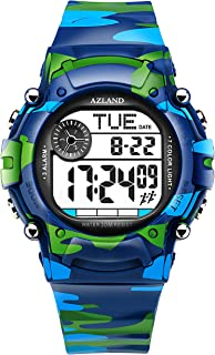 3 Multiple Alarms Reminder Sports Kids Wristwatch...