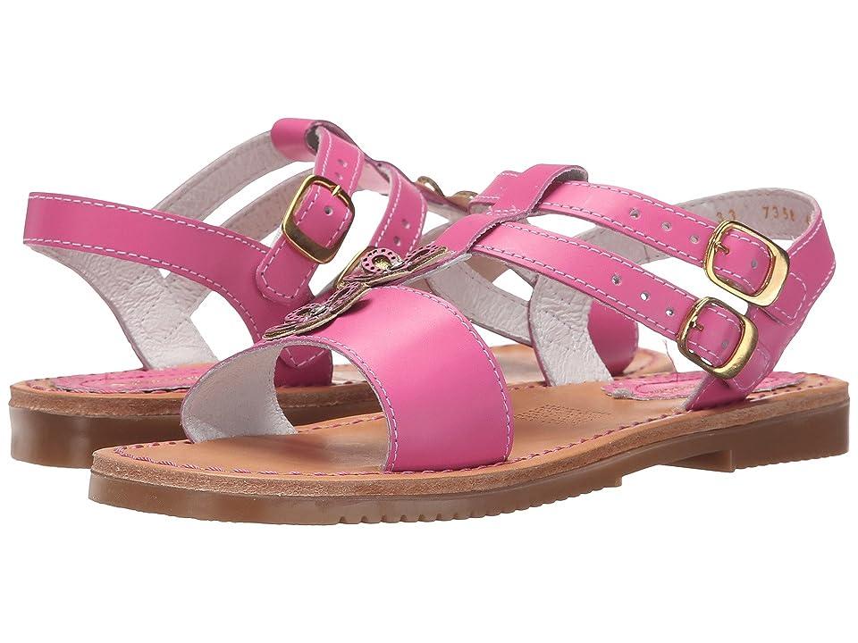 Kid Express Mela (Toddler/Little Kid/Big Kid) (Fuchsia Leather) Girls Shoes